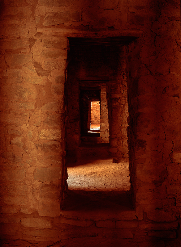 Doorways, Aztec Ruins, New Mexico
