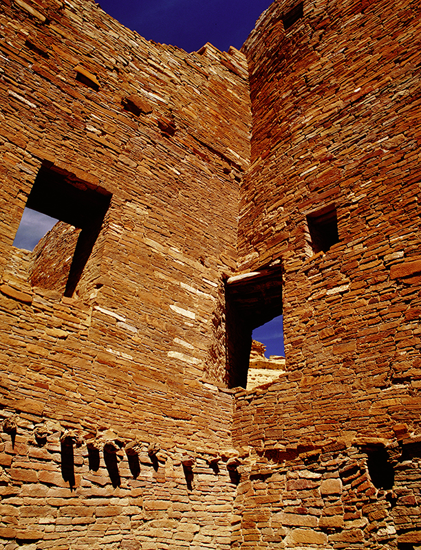 Pueblo Bonito, Corner Window, Chaco Canyon, New Mexico
