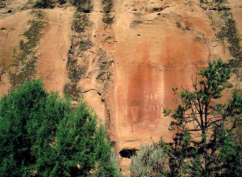 Basketmaker Petroglyphs, San Juan Basin, New Mexico