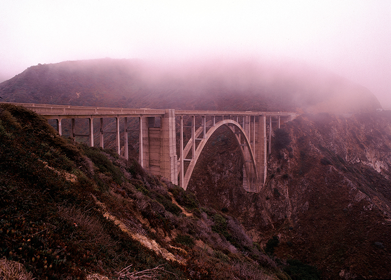 Bixby Bridge, Coast Highway, California