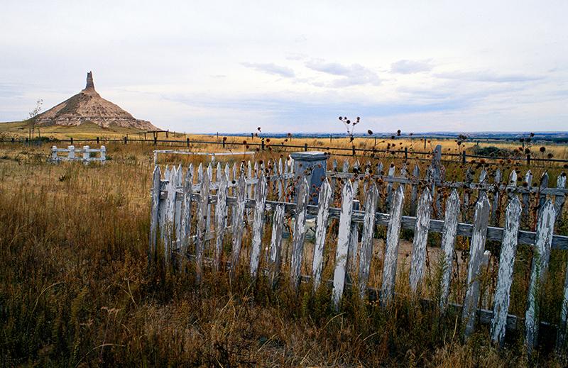 Pioneer Cemetery and Chimney Rock, Nebaska