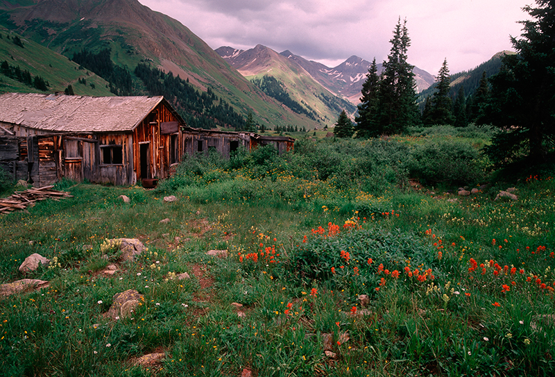 San Juan Mountains, Animas Forks Ghost Town