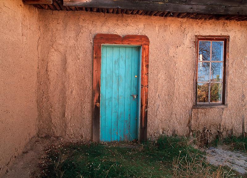 Blue Door Salmon Homestead New Mexico