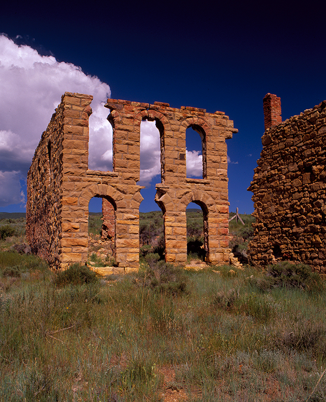 Elizabethtown Ghost Town New Mexico