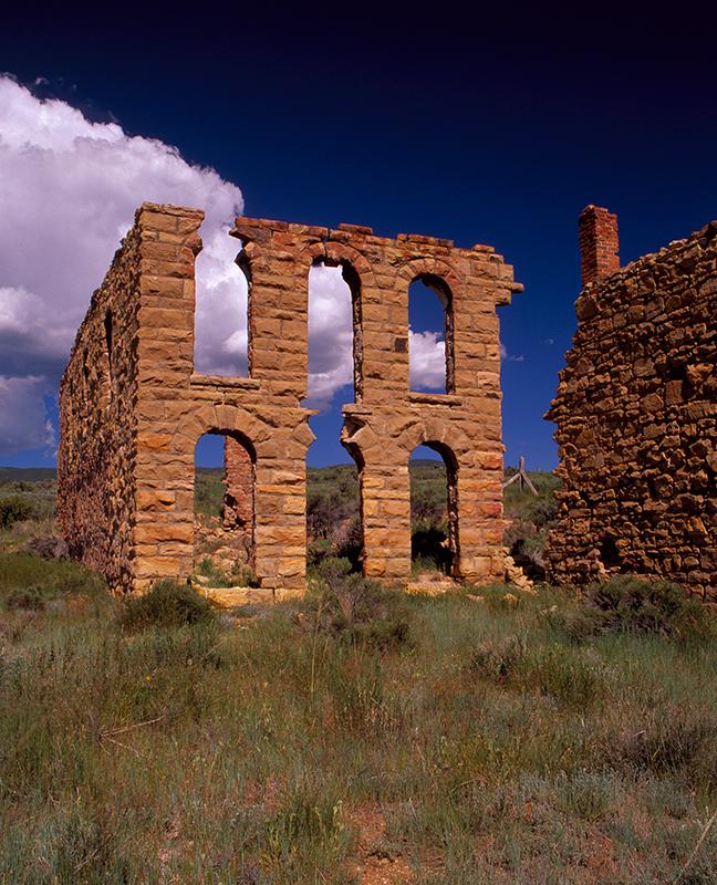Elizabethtown Ghost Town New Mexico