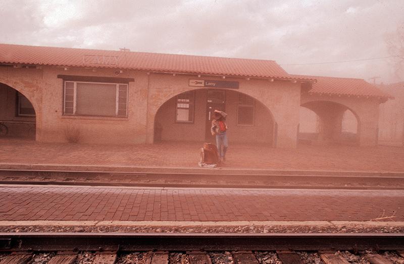Lamy Railway Station