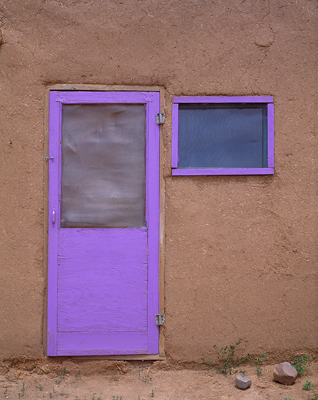 Purple Door Taos Pueblo