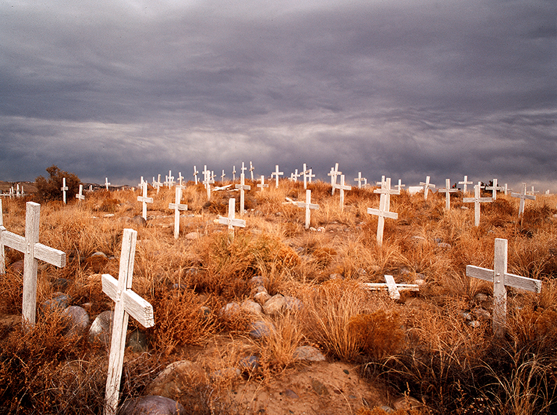 San Juan Mission Cemetery New Mexico