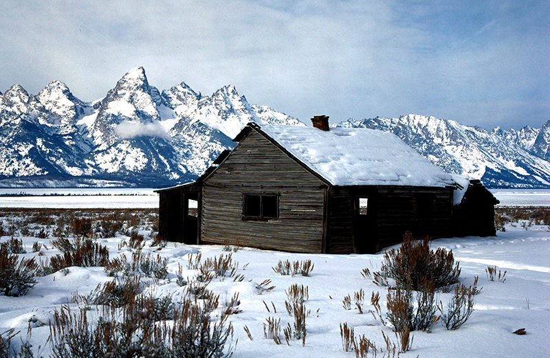 Teton Homestead Wyoming