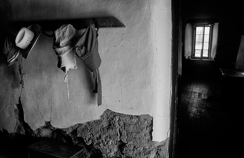 Hallway, Los Luceros Hacienda, Alcalde, New Mexico