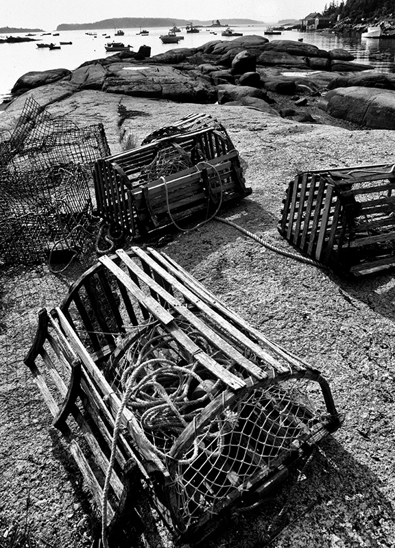 Lobster Traps, Stonington, Maine