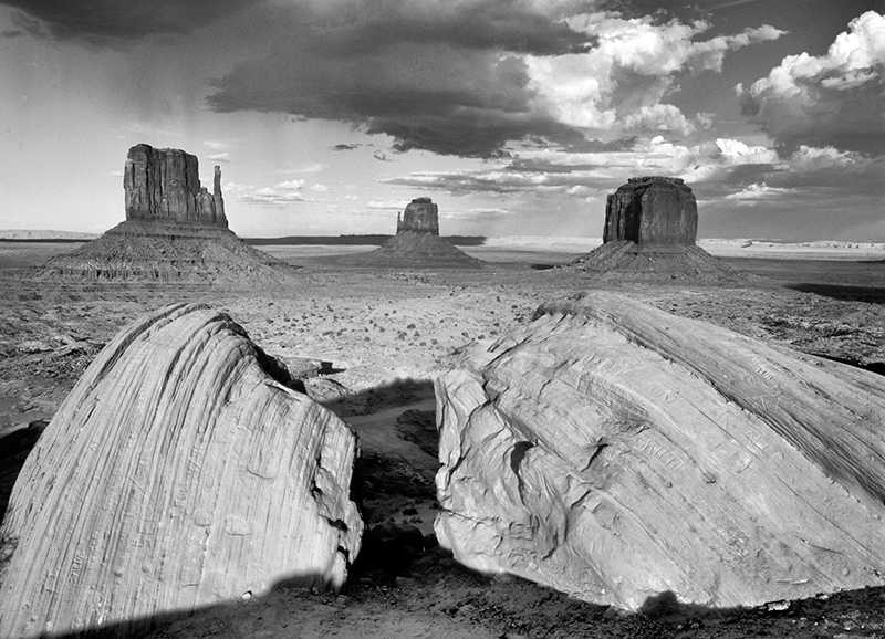 Mittens and Merrick Butte, Monument Valley, Arizona