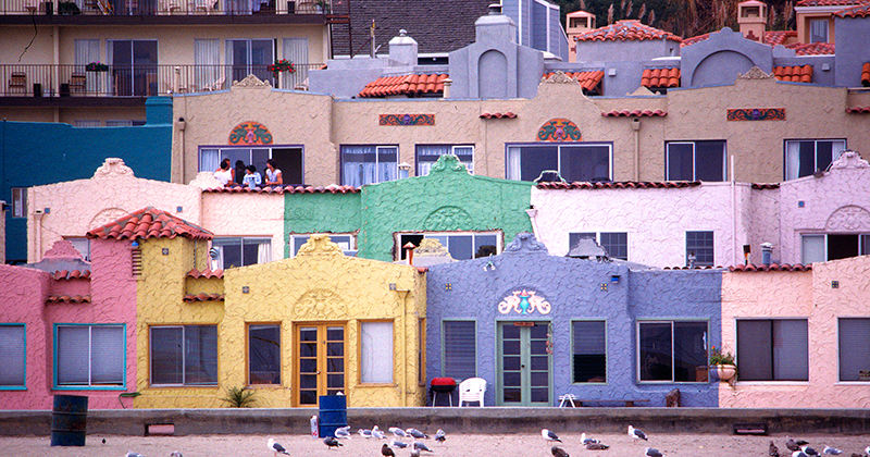 Beach Apartments, Capitola, California