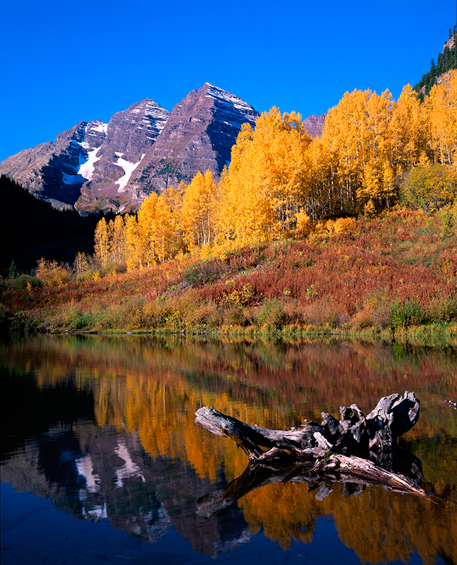 Maroon Bells, Autumn, Colorado