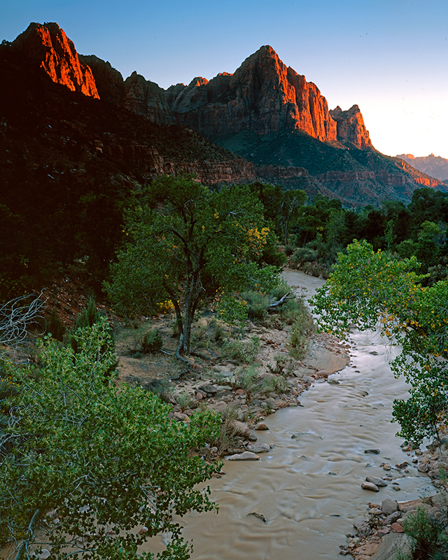 The Watchman, Virgin River, Zion National Park