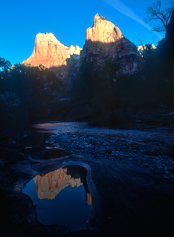 Patriarch's Reflection, Zion National Park