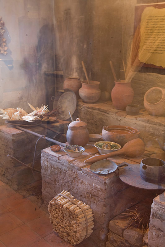 Kitchen, Carmel Mission, Carmel, California