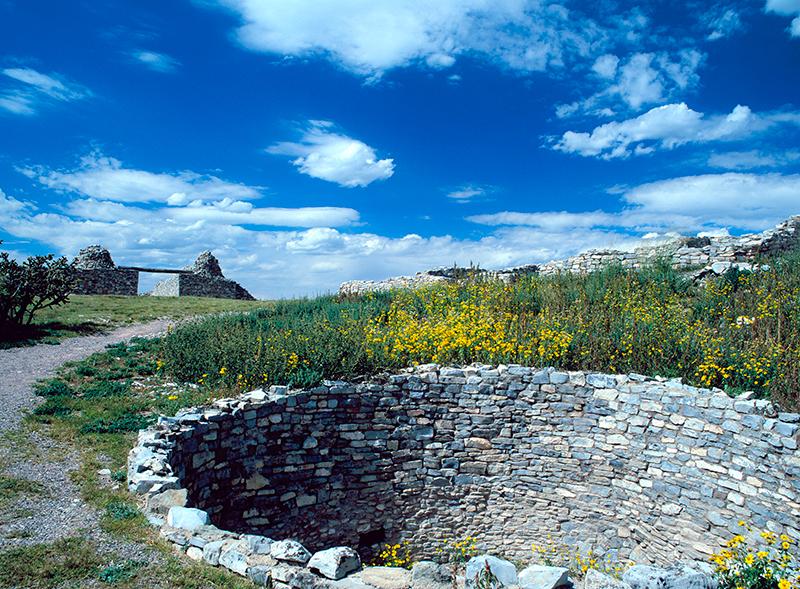 Mission San Buena Aventura, Gran Quivira, New Mexico