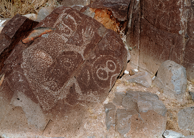 Three Rivers Petroglyph Site, New Mexico #13