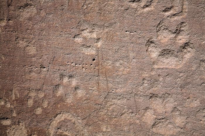 Largo Rincon Largo Canyon 1849